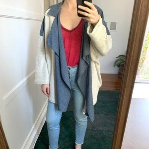 Free People Oversized Sweater Jacket by eis